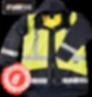 Storm flex Two Tone Safety Gear Parka cl