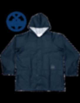 Havester Rain Jacket Blue waterproof