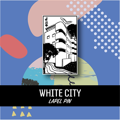 Whity City Lapel Pin