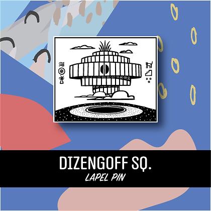 Dizengoff Sq. Lapel Pin