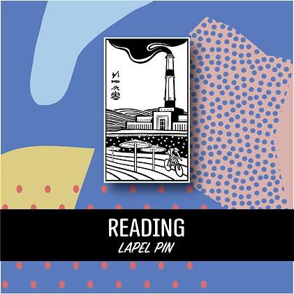 Reading Lapel Pin