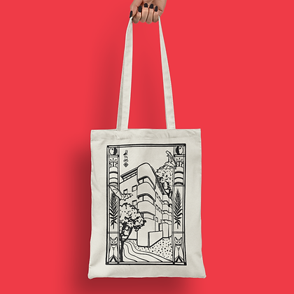 White City Tote Bag