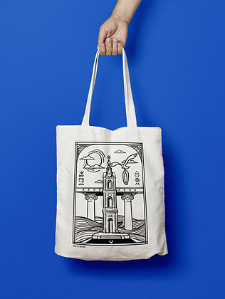 Jaffa Clock Tower Tote Bag
