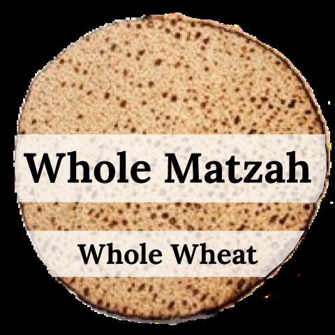 Whole Matzah - Whole Wheat (1lb)
