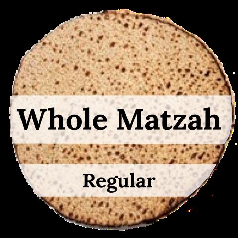 Whole Matzah - Regular (1lb)