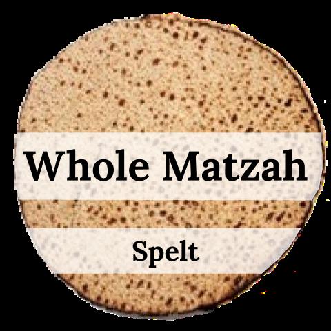 Whole Matzah - Spelt (1lb)