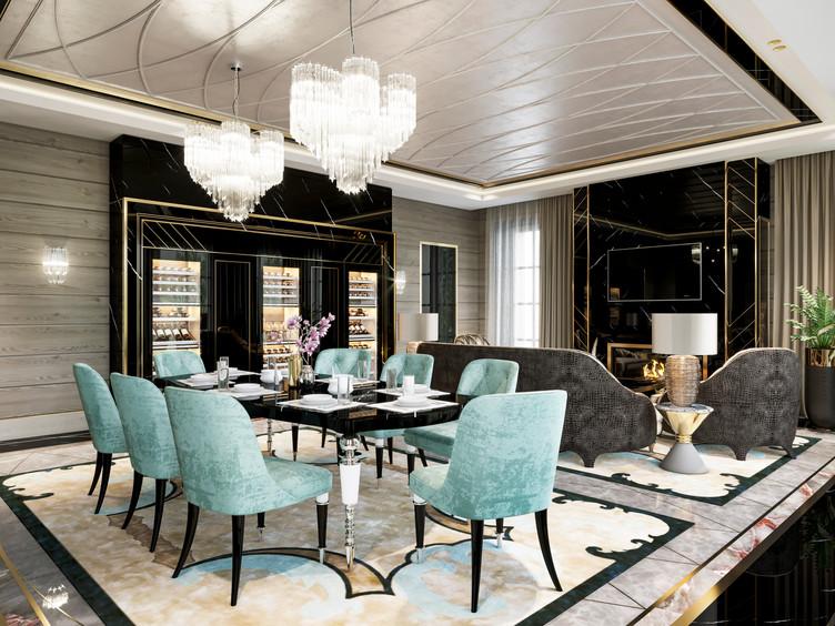 Luxury interior. Роскошный интерьер. Дизайн интерьера
