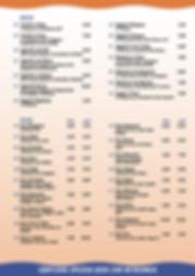 DIV 1703-299 Speisekarte Galeria Karte A