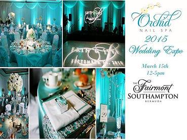 Orchid Spa Bermuda Wedding expo