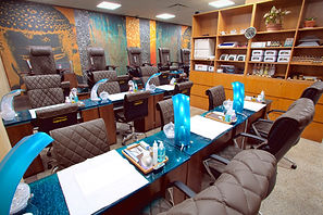 Orchid Spa Bermuda Manicure area