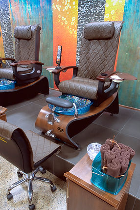 Orchid Spa Bermuda Pedicure spa chair