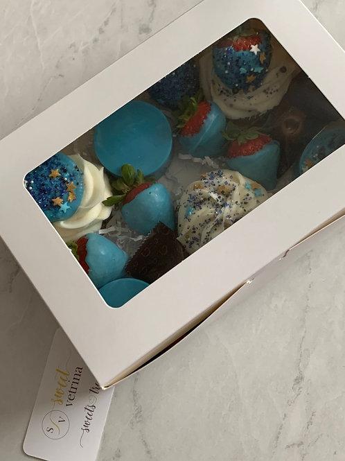 Blue Sweet Treat Box