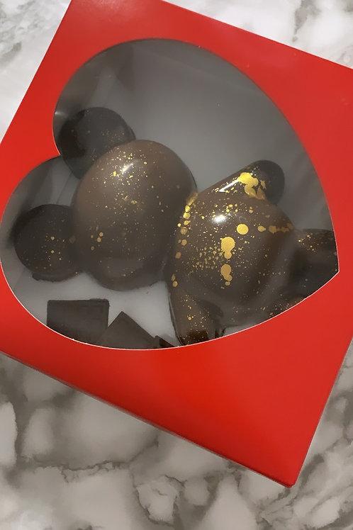 Bear Chocolate Smash Cake