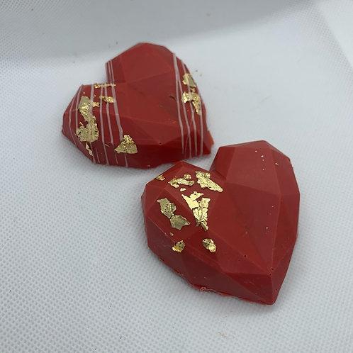 Geo-Hearts (set of 3)