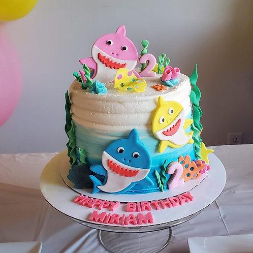 Baby Shark Bday Cake