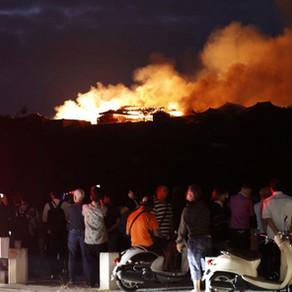 Incêndio atinge Castelo de Shuri, Patrimônio da Humanidade, no Japão