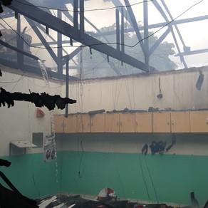 Creche com 130 crianças de 0 a 4 anos é destruída por incêndio que começou durante aulas em MT