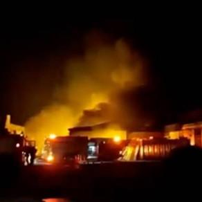 Incêndio atinge depósito das Casas André Luiz em São Paulo
