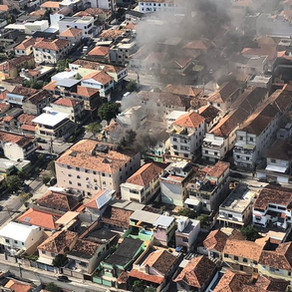 Pai e bebê morrem durante incêndio em prédio em Higienópolis, na Zona Norte do Rio