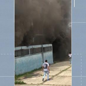 Incêndio em escola de Suzano assusta alunos e professores