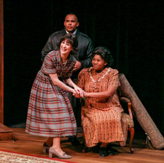 As Bev (L) in Clybourne Park