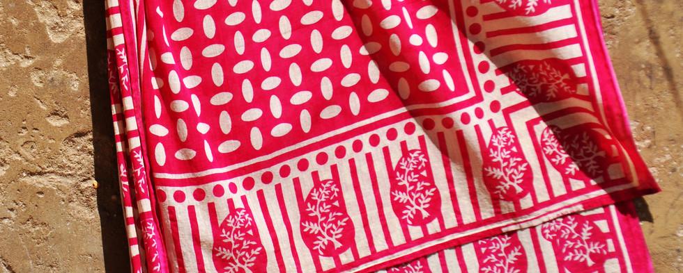pink kanga