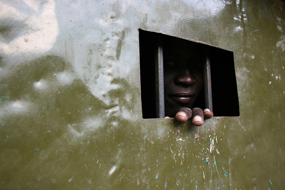 Photo from Yei Prison in South Sudan. (2007). Photo: Pernille Bærendtsen