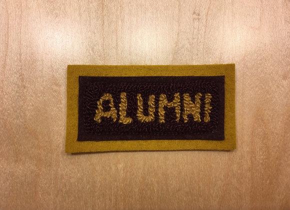 Alumni Band Jacket Patch