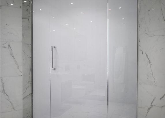 Smart Glass Bathroom Door Opaque