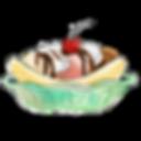 254742 - banana cream dessert frozen ice