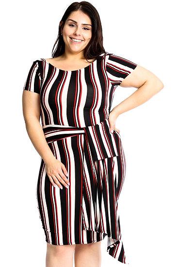Twisted Day Plus Size Dress
