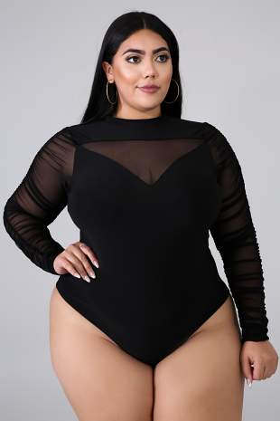 Wicked and Classy Plus Size Bodysuit
