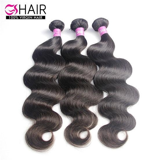 Top Grade10 Inch Human Body Virgin  Brazilian Wave Hair