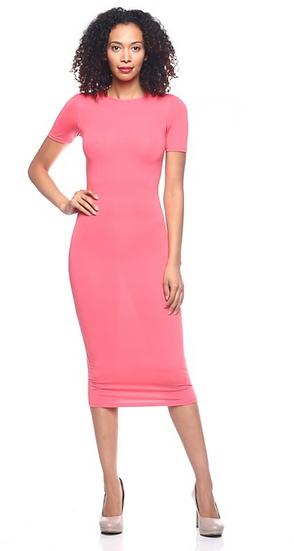 Pink Sandex Dress