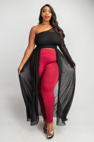 Dark and Lovely Maxi Plus Size Top