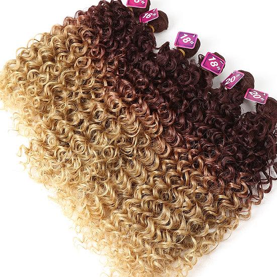 Natural Curly 7pcs Bundle Set