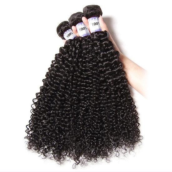 100% Unprocessed Virgin Peruvian Brazilian  Human Wave Kinky Curly Hair