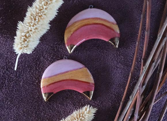 Crescent Retro Pendant Beads