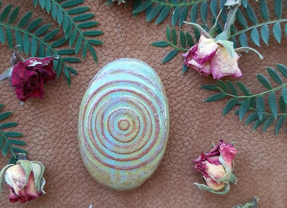 Ceramic Trippy Cabochon