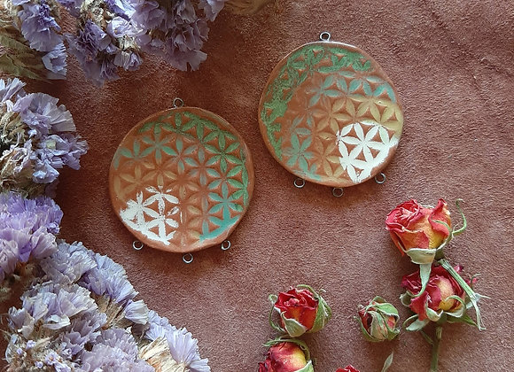 Terracota Flower of Life Connectors