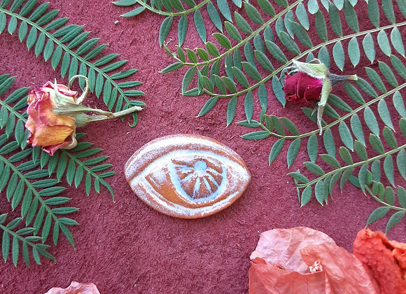 Terracota Eye Cabochon
