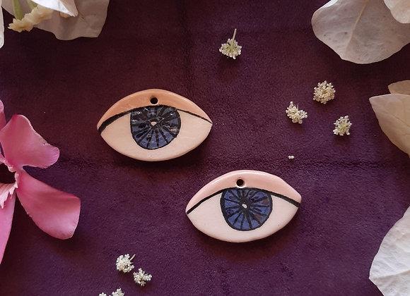 Ceramic Eye Pendant