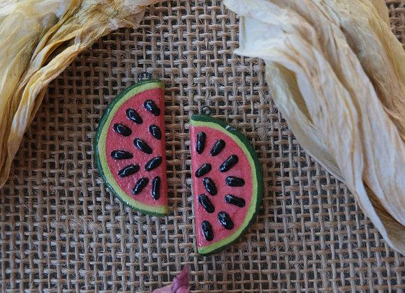 Watermelon Pendant Beads