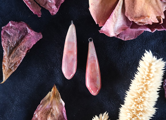 Crystal Shaped Pendant Beads