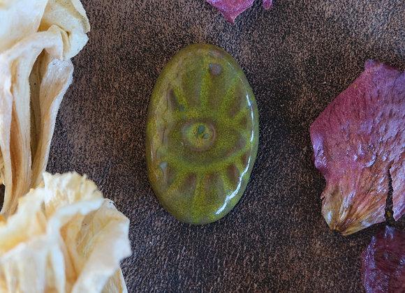 Ceramic Eye Cabochon
