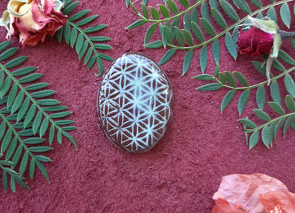 Flower of Life Cabochon