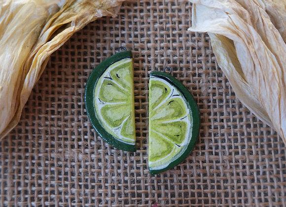 Lime Pendant Beads