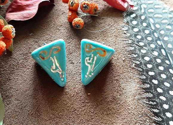 Turquoise Pendulum beads