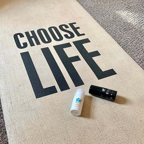 Choose Life Yoga Mat + FREE Green People natural deodorant (*while stocks last)