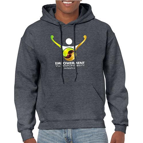 Empowerment via Responsibility Hooded Sweatshirts